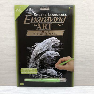 Royal and Langnickel Silver Engraving Art Kit (Dolphins)