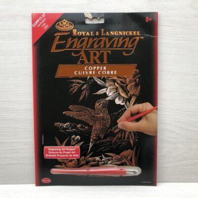 Royal and Langnickel Copper Engraving Art Kit (Hummingbird)