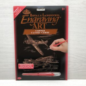 Royal and Langnickel Copper Engraving Art Kit (WWII Fighter)