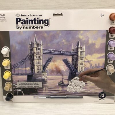 Paint by Numbers: Tower Bridge