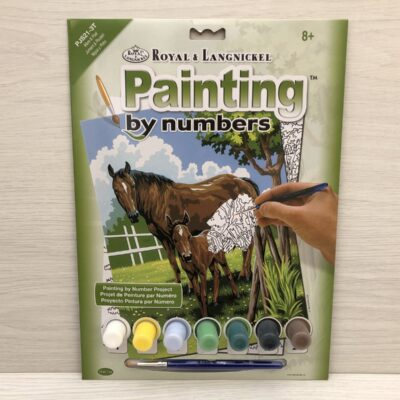 Paint by Numbers: Mare and Foal (Junior-Medium)