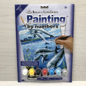 Paint by Numbers: Dolphins (Junior-Medium)