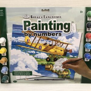 Paint by Numbers: Nostalgic Plane