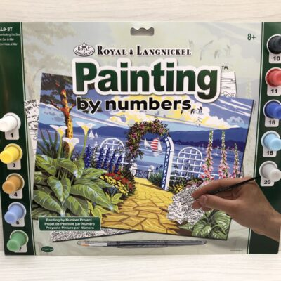 Paint by Numbers: Garden Overlooking the Sea