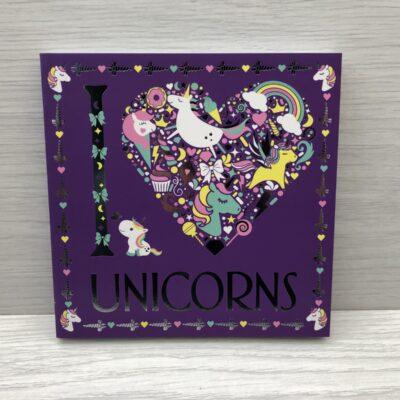 I Love Unicorns Colouring Book
