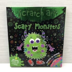 Scratch Art Kit: Scary Monsters