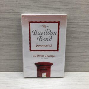 Basildon Bond: Watermarked White Envelopes