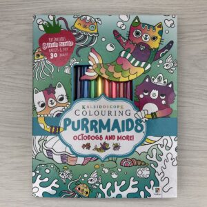 Kaleidoscope Colouring: Purrmaids, Octodogs and More