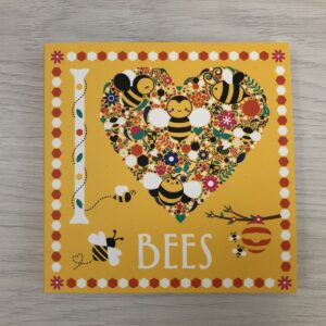 I Love Bees Colouring Book