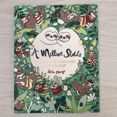 Lula Mayo Colouring: A Million Sloths