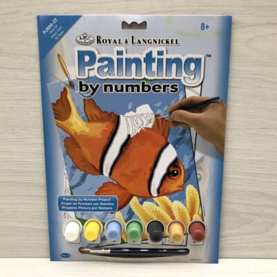 Paint by Numbers: Clown Fish