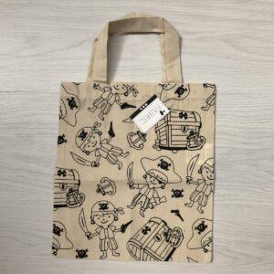 Colour-It-Yourself Tote Bag: Pirates