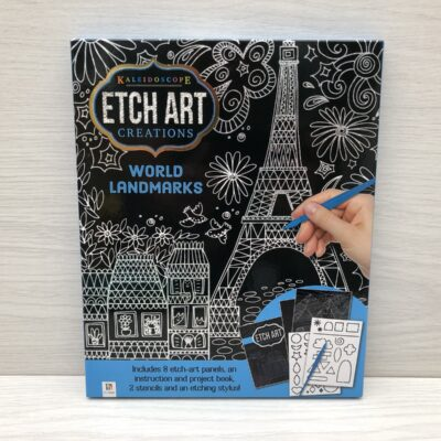 Kaleidoscope Etch Art Creations Kit: World Landmarks
