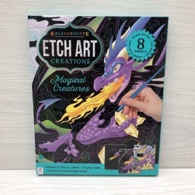 Kaleidoscope Etch Art Creations Kit: Magical Creatures