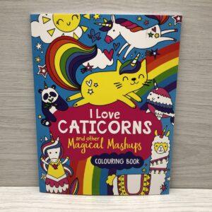 I Love Caticorns Colouring Book