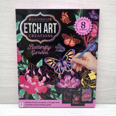 Kaleidoscope Etch Art Creations Kit: Butterfly Garden