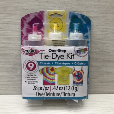 One-Step Tie-Dye Kit: Classic (3 Bottle Pack)