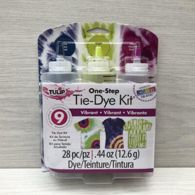 One-Step Tie-Dye Kit: Vibrant (3 Bottle Pack)