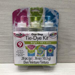 One-Step Tie-Dye Kit: Bright (3 Bottle Pack)