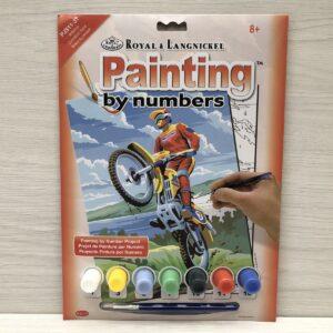 Paint by Numbers: Motocross (Junior-Medium)