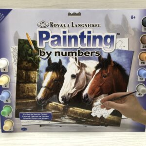 Paint by Numbers: Three of a Kind
