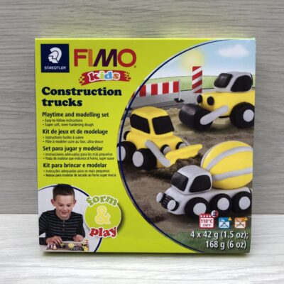 Fimo Kids: Form and Play: Construction Trucks