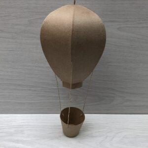 Papier-Mâché Hot Air Balloon (M)