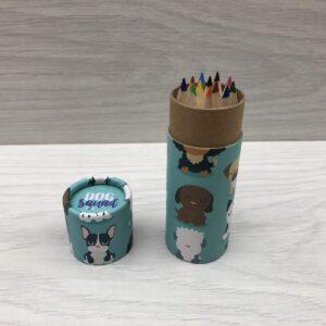 Mini Colouring Pencils: Dog Squad