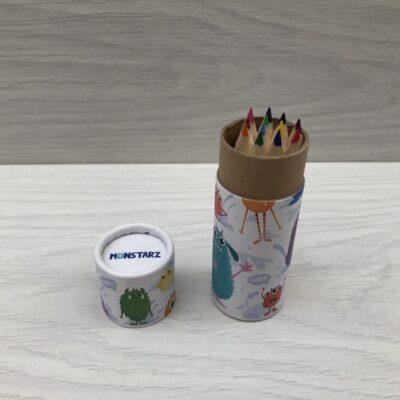 Mini Colouring Pencils: Monstarz
