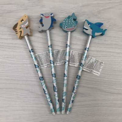 Shark Novelty Pencil with Rubber