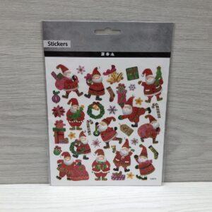 Stickers: Happy Santa Claus