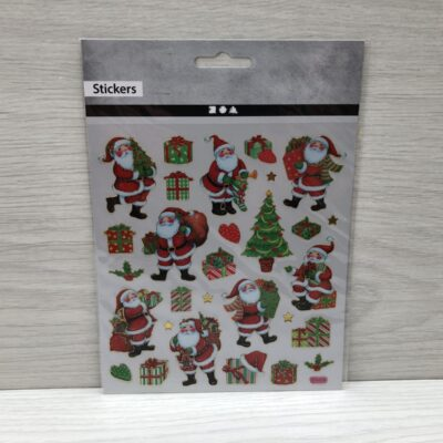Stickers: Classic Christmas Figures