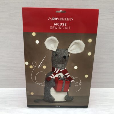 Giant Sewing Kit: Christmas Mouse