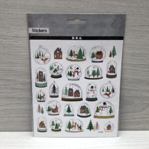 Stickers: Snow Globe