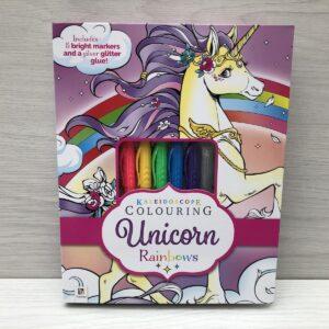 Kaleidoscope Colouring: Unicorn Rainbows