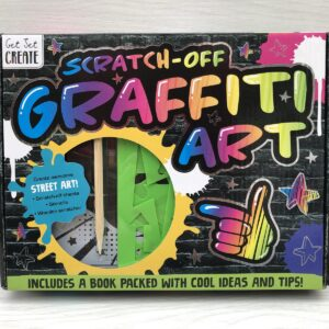 Scratch Off Graffiti Art Kit
