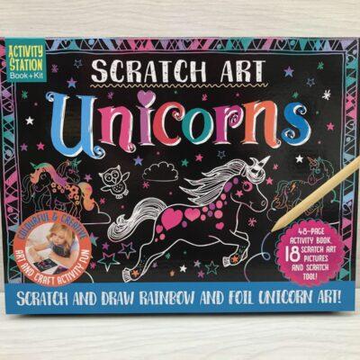 Scratch Art Kit: Unicorns