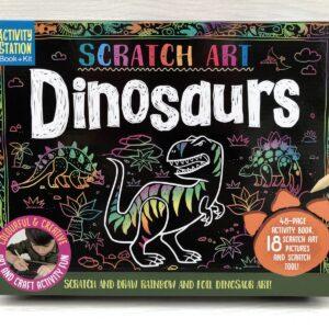 Scratch Art Kit: Dinosaurs