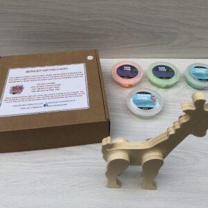 Animal Silk and Foam Clay Kit