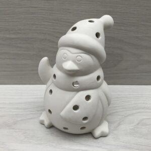 Ceramic Penguin Tealight Holder