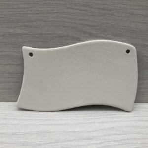 Ceramic Wavy Plaque