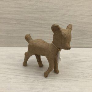 Papier-Mâché Baby Deer (S)
