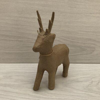 Papier-Mâché Reindeer (M)