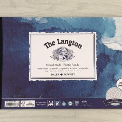The Langton: Rough Grain Watercolour Paper (A4)