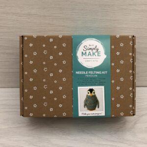 Needle Felting Kit: Penguin