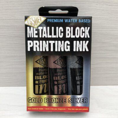 Essdee: Metallic Block Printing Ink