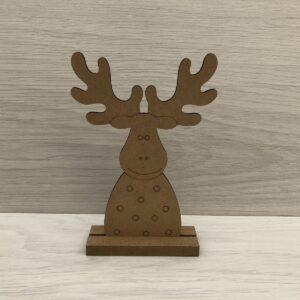 Wooden Reindeer Shape