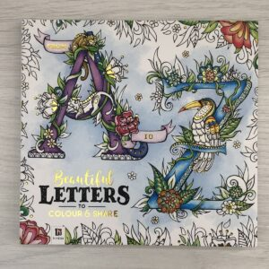 A to Z Beautiful Letters to Colour and Share
