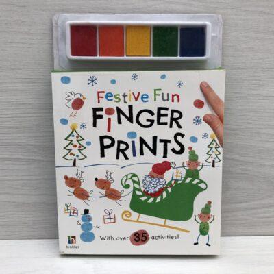 Festive Fun Finger Prints Kit