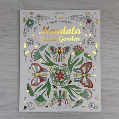 Mandala Secret Garden Colouring Book